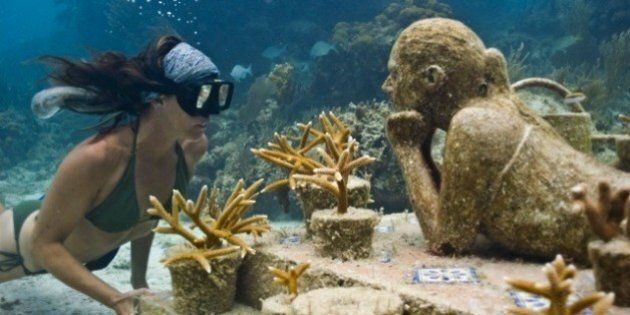 Le Musée sous-marin de Cancun: plonger dans un rêve