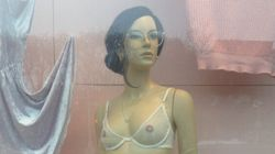 Des mannequins poilus font jaser