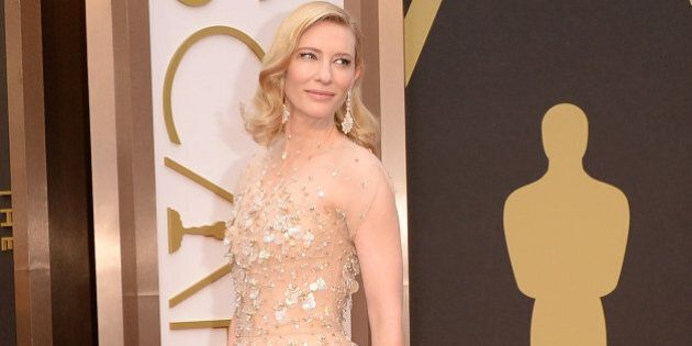 HOLLYWOOD, CA - MARCH 02: Actress Cate Blanchett attends the Oscars held at Hollywood & Highland Center...