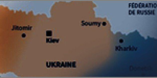 Manifestations pro-russes dans l'est de