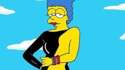 Après les robes de stars, Marge choisit le latex!