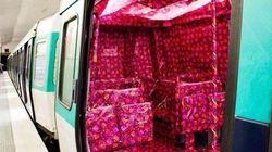 C'est Noël, même dans le métro de Paris!