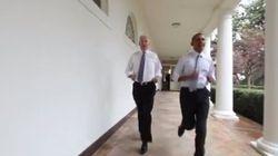Obama et Biden promeuvent l'exercice physique à leur manière