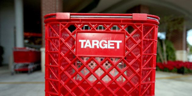 MIAMI, FL - DECEMBER 19:  Carts are seen outside of a arget store on December 19, 2013 in Miami, Florida. Target announced that about 40 million credit and debit card accounts of customers who made purchases by swiping their cards at terminals in its U.S. stores between November 27 and December 15 may have been stolen.  (Photo by Joe Raedle/Getty Images)