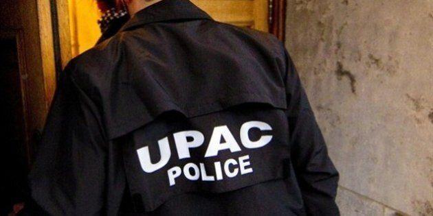 L'UPAC frappe à