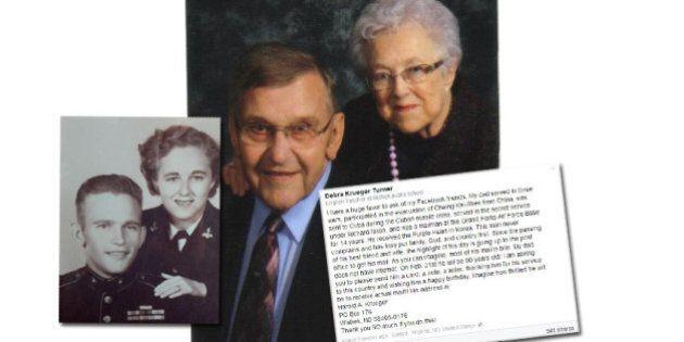 Facebook se mobilise pour envoyer des centaines de lettres à un vétéran de 90