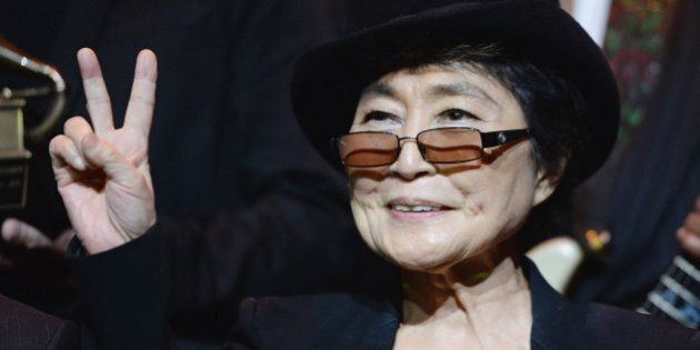 LOS ANGELES, CA - JANUARY 25: Yoko Ono attends the Special Merit Awards Ceremony of the 56th GRAMMY Awards...