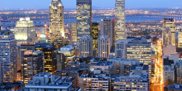 montreal's downtown by