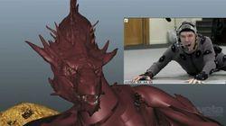 Comment Benedict Cumberbatch a joué Smaug, le dragon du «Hobbit»