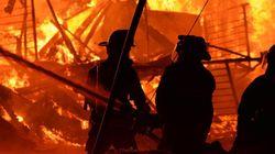 Photos de l'incendie à L'Isle-Verte: des images saisissantes de la