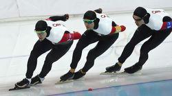 Sotchi 2014: les Canadiens ratent le bronze de peu en patinage longue piste poursuite par