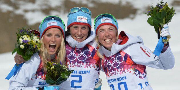 Ski de fond féminin: la Norvège balaie le podium au 30 km groupé à