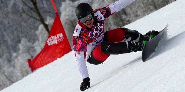 Sotchi 2014: les planchistes Jasey-Jay Anderson et Michael Lambert sont éliminés en slalom
