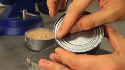 Comment ouvrir une conserve sans ouvre-boîte?