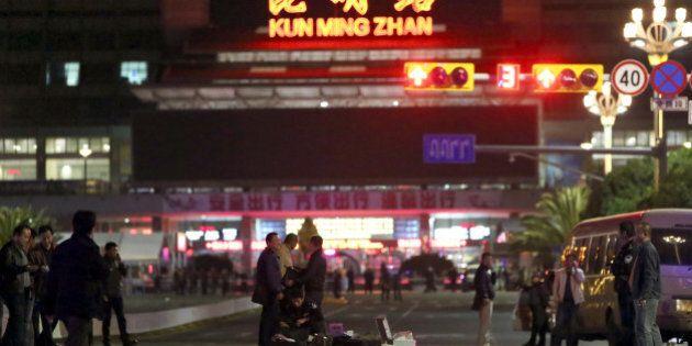 Chine : 28 morts lors d'une attaque «terroriste» dans une
