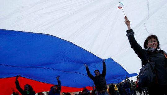 Des manifestations pro-russes à l'est et au sud de l'Ukraine: un pays à fronts renversés