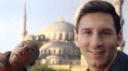 Bataille de selfies entre Lionel Messi et Kobe Bryant