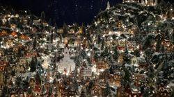 Ce village de Noël miniature est exceptionnel