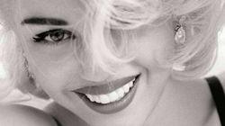 Miley Cyrus en Marilyn Monroe et Madonna