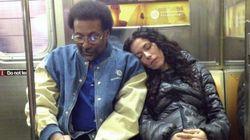 S'endormir sur l'épaule de ses voisins de métro...