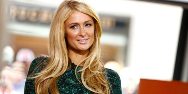 TODAY -- Pictured: Paris Hilton appears on NBC News' 'Today' show -- (Photo by: Peter Kramer/NBC/NBC...
