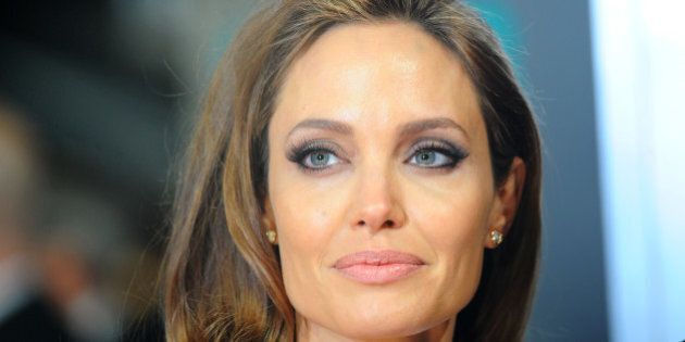 LONDON, ENGLAND - FEBRUARY 16: Actress Angelina Jolie attends the EE British Academy Film Awards 2014...