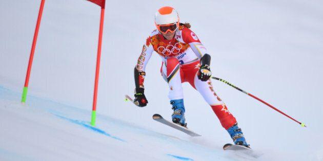Sotchi 2014: Marie-Michèle Gagnon savoure une petite victoire personnelle au super-G