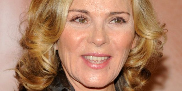 Actress Kim Cattrall attends the Tribeca Film Festival opening night premiere