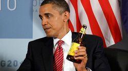 Obama et Harper parient des bières sur