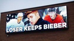 Le perdant du match de hockey Canada-USA garde