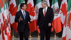 Stephen Harper au Mexique pour le Sommet des dirigeants