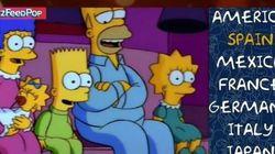 Comment sonnent «Les Simpson» dans les autres
