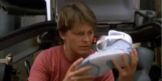 Les lacets automatiques seront disponibles en 2015 comme l'avait prévu Retour vers le futur, affirme...