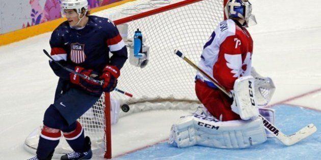 Oshie procure un gain de 3-2 aux États-Unis en tirs de barrage contre la
