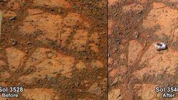 La Nasa a résolu le mystère de la roche sur