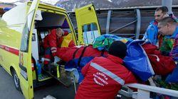 Le technicien percuté par un bobsleigh dans un état