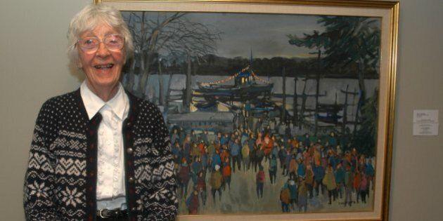 L'artiste peintre Molly Lamb Bobak est décédée samedi à l'âge de 95