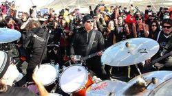 Revivez le concert inédit de Metallica en Antarctique