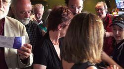 La première de « La langue à terre » attire les foules sur le FFM»