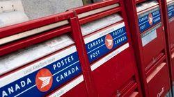Postes Canada a perdu 104 millions