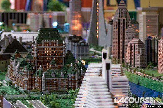Plus de 25 monuments historiques miniaturisés avec des Mega