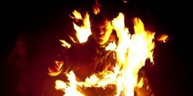 Torche humaine : un Autrichien s'est enflammé pendant 5 minutes et 41