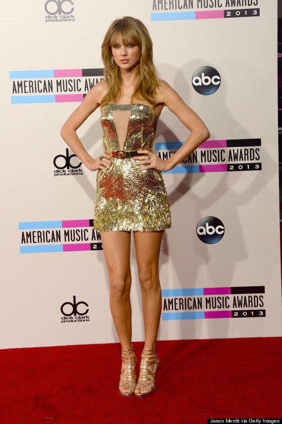 American Music Awards: la robe de Taylor Swift vole la vedette