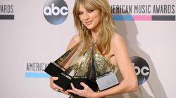 Taylor Swift élue artiste de l'année aux American Music Awards