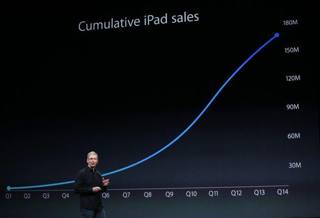 iPad Air: le revers de la tablette