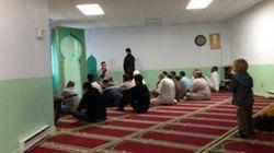 Rassemblement à la mosquée de