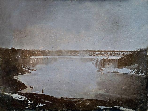 Ceci est la première photographie d'un paysage canadien