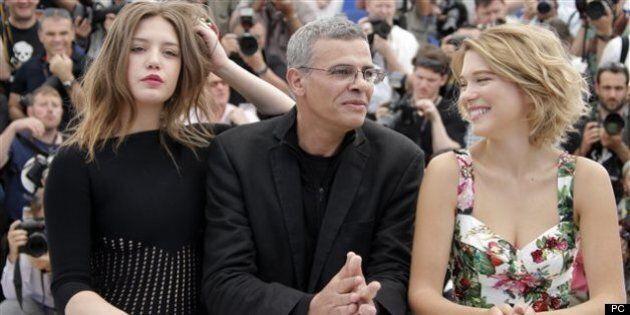 «La vie d'Adèle» et l'équipe du film applaudis à
