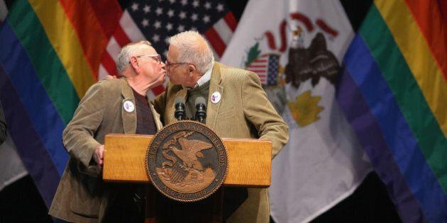 L'Illinois reconnaît le mariage