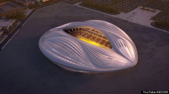 Le Al Wakrah World Cup Stadium: le nouveau stade du Qatar en forme de